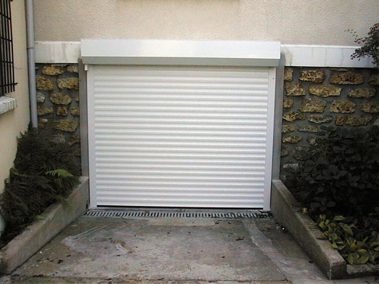 porte de garage enroulement